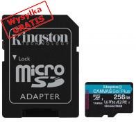 Karta pamięci KINGSTON SDCG3/256GB-20